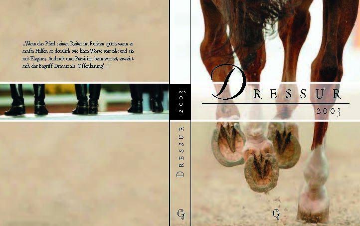 Dressur 2003 Titelbild-Vorwort Ann Kathrin Linsenhoff